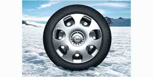 Complete Steel Wheel 16 inch with Winter Tire (Michelin)