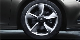 Opel Cascada Accessories Alloy Wheel 19 Inch 5 Spoke
