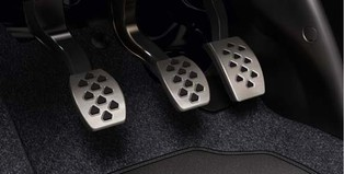 RHD - OPC Line Stainless Steel Pedal Covers, Manual