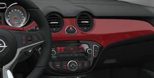 Interior Trim Kit, Red'n'Roll