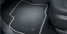 Floor Mats, Velour - Jet Black