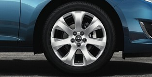 Alloy Wheel 17 inch - 7-spoke