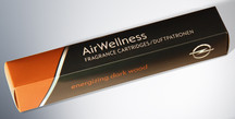 AirWellness Fragrance Cartridges, Energizing Dark Wood