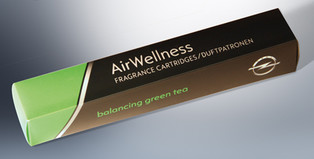 AirWellness geurpatronen, Balancing Green Tea