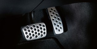 OPC Line Stainless Steel Pedal Covers, Auto