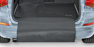 Luggage Compartment Liner - Black