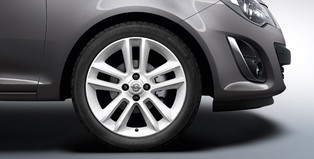 Alloy Wheel 17 inch - 5-twin-spoke - Casablanca White