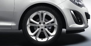 Opel Corsa D 3 Dr Accessories Alloy Wheel 17 Inch 5 Y Spoke