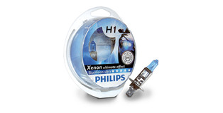 Philips BlueVision ultra, halogene žarulje H1