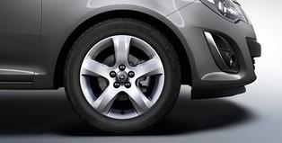 Opel Corsa E 5 Dr Accessories Alloy Wheel 16 Inch