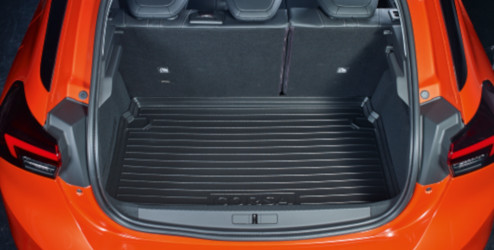 Opel Corsa F Accessories Bac Pour Le Coffre Reversible