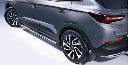 più vicino a prezzo ridotto 100% autentico Opel Grandland X Accessories | Side Steps