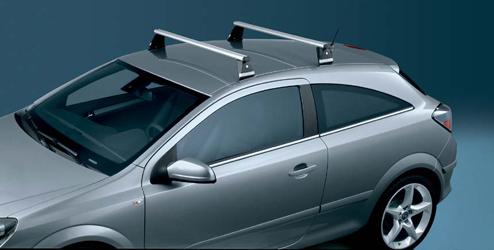 opel astra-h gtc akcesoria   aluminiowe belki dachowe