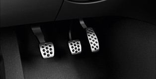 OPC Line Stainless Steel Pedal Covers, Manual