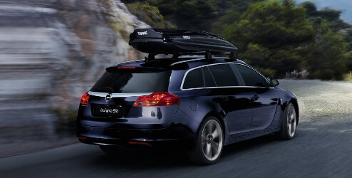 Opel Insignia Sports Tourer Accessories Thule Roof Box